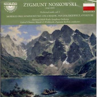 Z. Noskowski - Zygmunt Noskowski: Orkesterværker Vol. 1 [CD] USA import