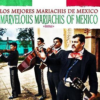 Los Mejores Mariachis De Mexico - Marvelous Mariachis du Mexique [CD] USA import