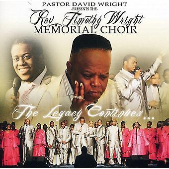 Timothy Wright - Memorial kor [CD] USA import