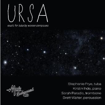 Larsen/Gubaidulina/Raum/Srinivasan/York/Firsova/Mc - Ursa: Musik for Tuba af kvinder komponister [CD] USA import