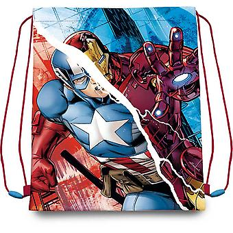 Kids Euroswan Gym Bag 41 Cm Avengers (Toys , School Zone , Backpacks)
