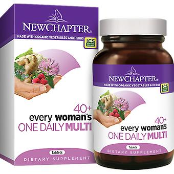 New Chapter Every Woman's One Daily 40+ Tablets 24 Ct