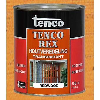 Tenco Tencorex 207 750 ml transparente Holzveredelung redwood