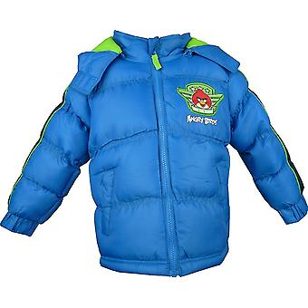 Boys Angry Birds Winter Hooded Puffer Jacket HO1224