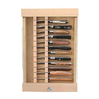 12 knives display case Direct from France