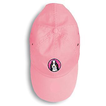 キャロラインズ宝物 LH9374PK 156 バセットハウンド野球帽