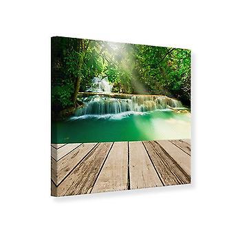 Canvas Print Waterfall Thailand