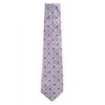 Paul Smith Accessories Mens Mens Grey Floral Tie Aexa/113l/n48.