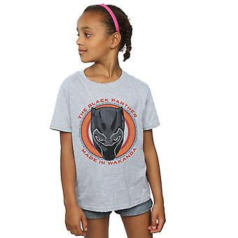 Marvel Girls Black Panther Made in Wakanda Red T-Shirt