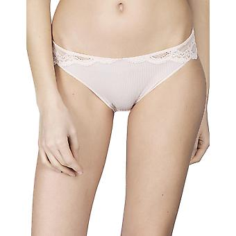 Maison Lejaby 17263-321 Women's Insaisissable Peach Pink Lace Briefs Knickers Bikini