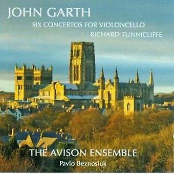 John Garth - John Garth: Seks koncerter for cello [CD] USA import