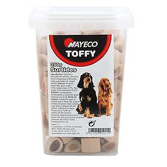 Nayeco Toffy sweets mix of flavors 250 gr. (Honden , Snacks , Koekjes)