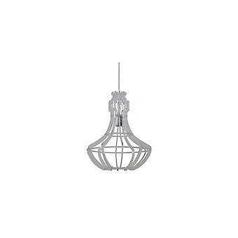 Light & Living Hanging Pendant Lamp D40x50cm Amory Clear