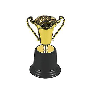 Single Gold Trophy for Party Bags - Award Trophy | Kids Party Games