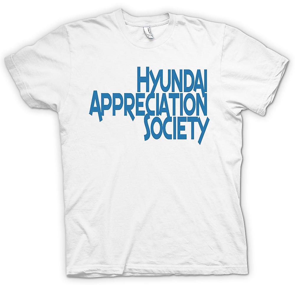 Womens T-shirt-Hyundai Appreciation Society