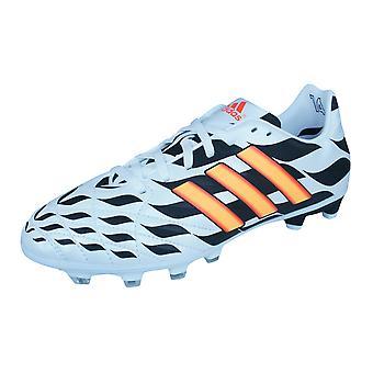 Boys adidas Firm Ground Football Boots 11 Nova FG WC - White