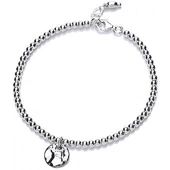 Cavendish French Karma Coin Bracelet - Silver