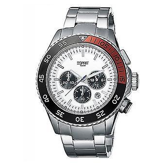 ESPRIT mens watch wristwatch Varic stainless steel Chrono ES103621008
