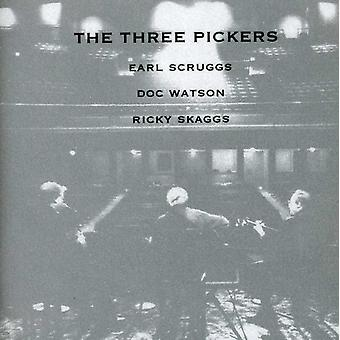 Scruggs/Watson/Skaggs - drie plukkers [CD] USA import