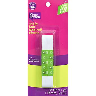 Dritz Sewing 101 Non-Roll Knit Elastic 3/4