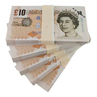 Play money-10 Pound (100 banknotes)