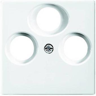 Busch-Jaeger Cover TV, Radio, SAT socket Busch-balance SI Alpine white 1743-03-914