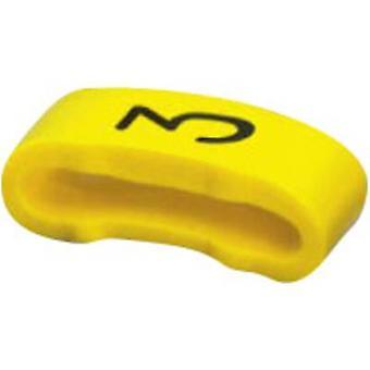 Pre-printed cable marker Imprint 3 Outside diameter range 16 mm (min) 0826514: