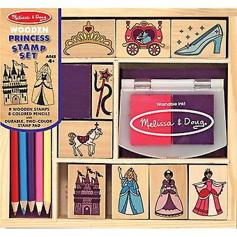 Wooden Stamp Set-Princess