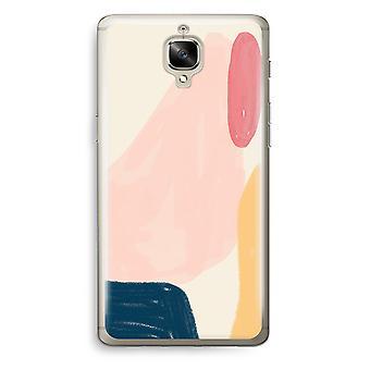 OnePlus 3 Transparent Case (Soft) - Saturday Flow