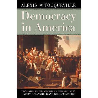 الديمقراطية في أمريكا من ألكسيس دي توكفيل-جيم هارفي مانسفيلد-