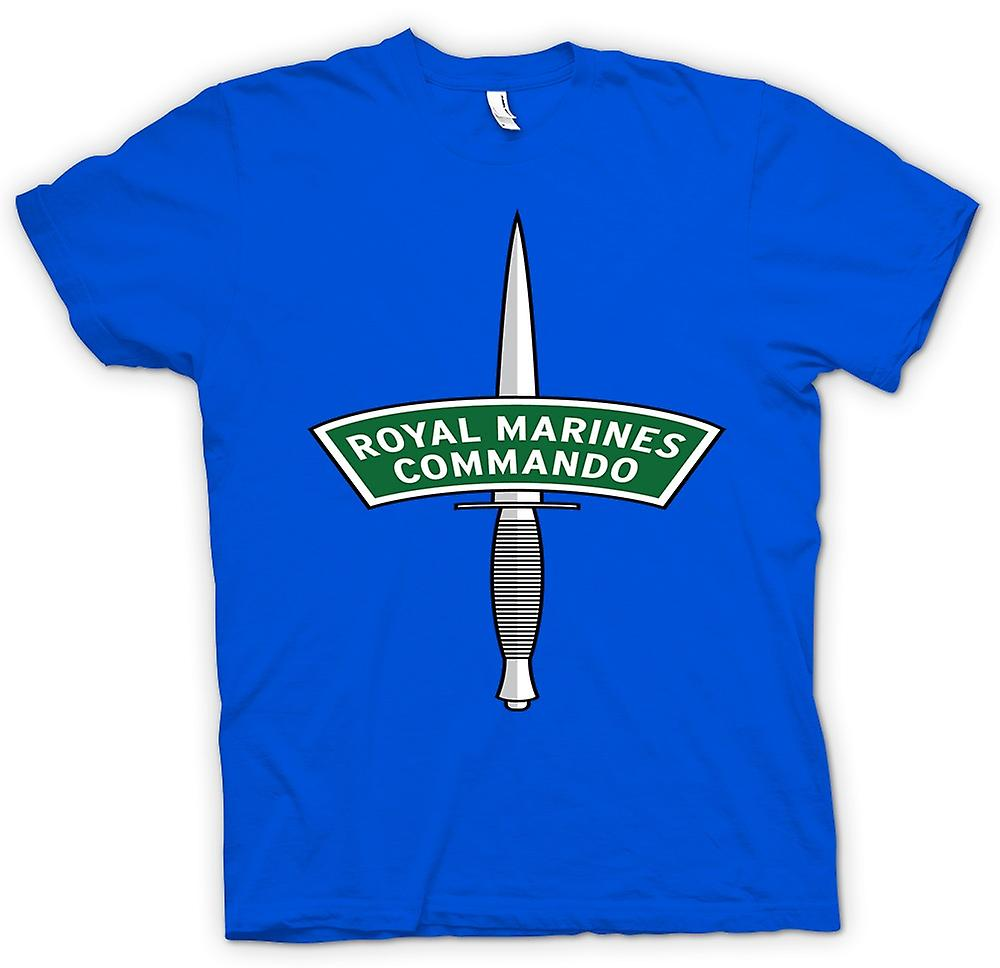 Mens T-shirt-Royal Marines Commando Dolch