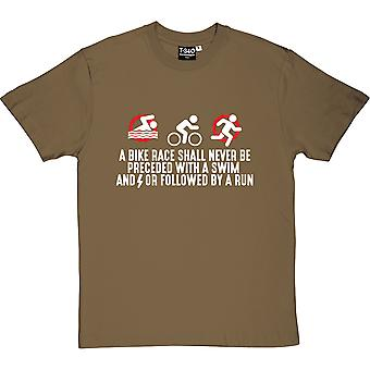 A Bike Race Men's T-Shirt