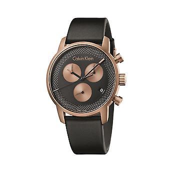 Calvin Klein City cronógrafo reloj K2G17TC1