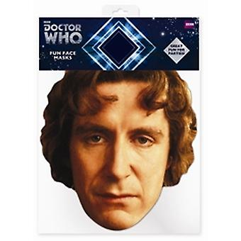 Paul McGann Doctor Who karty maseczka do twarzy (ósmy Doktor)