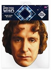 Paul McGann Doctor Who Card Face Mask (The Eighth Doctor)