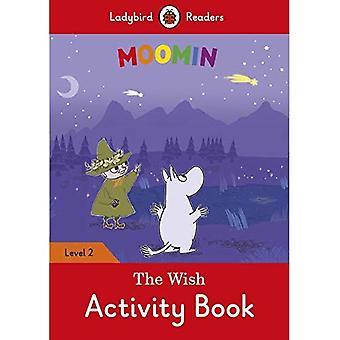 Moomin: Le souhait cahier d'activités - coccinelle lecteurs niveau 2
