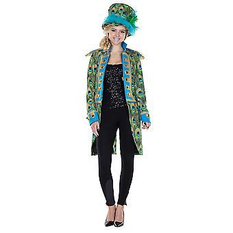 Frack Peacock ladies jacket costume ringmaster Mardi