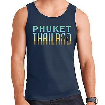 Phuket Sunset Silhouette Men's Vest