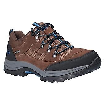 Cotswold Mens Oxerton Low Waterproof Lace Up Walking Shoes