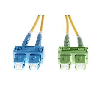 Sc-Sc/Apc Os1/Os2 Singlemode Fibre Optic Duplex Cable