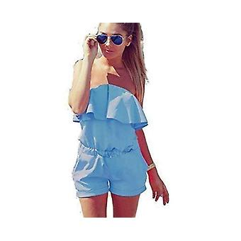 Womens vibrant bright colour summer play suit