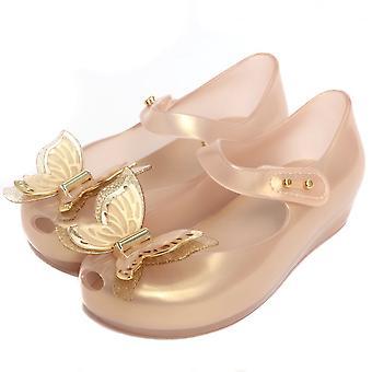 Melissa chaussures mini Melissa Ultragirl papillon chaussure, or doux