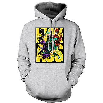 Mens Hoodie - Kick Ass Super Hero - B-Movie - Poster