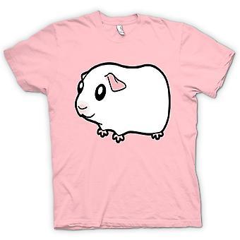 Mens T-shirt - Cartoon Guinea Pig Design