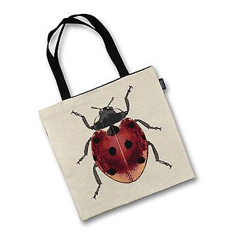 Mcalister textiles ladybird tapestry tote bag
