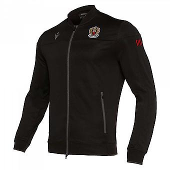 2019-2020 Nice Macron Anthem Jacket (Black)