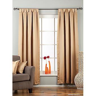 Taupe Tab Top 90% blackout Curtain / Drape / Panel - 50X84