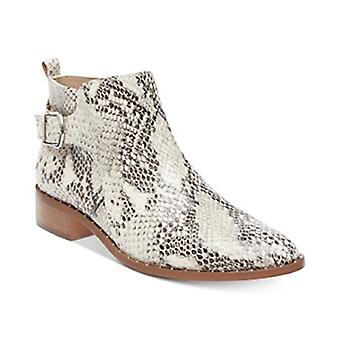 STEVEN by Steve Madden Women's Chavi Booties White Multi Size 5M