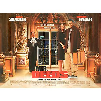 Mr. Deeds (Double Sided) Original Cinema Poster