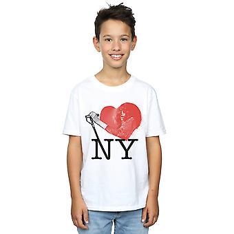 Joey Ramone Boys I Heart NY T-skjorte
